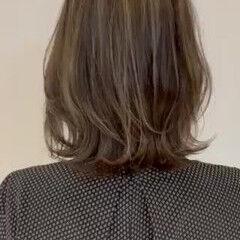 ボブ レイヤーボブ 大人ハイライト ハイライト ヘアスタイルや髪型の写真・画像