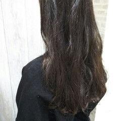 大人ヘアスタイル ロング フェミニン オフィス ヘアスタイルや髪型の写真・画像