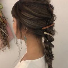 ハイライト コントラストハイライト ロング ナチュラル ヘアスタイルや髪型の写真・画像
