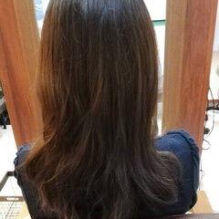 サラサラ セミロング ナチュラル 髪復活 ヘアスタイルや髪型の写真・画像