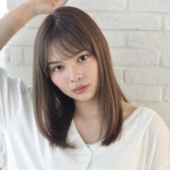 髪質改善 モテ髪 大人ロング 小顔ヘア ヘアスタイルや髪型の写真・画像