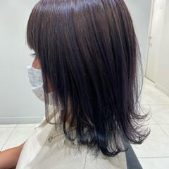 ウルフ女子 ダークグレー ウルフカット モード ヘアスタイルや髪型の写真・画像