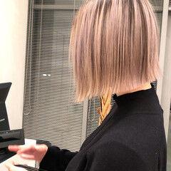 外国人 モード ボブ ミニボブ ヘアスタイルや髪型の写真・画像