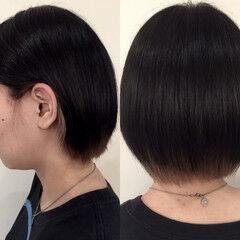 ショート ストリート インナーカラー ヘアスタイルや髪型の写真・画像