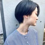 ナチュラル 黒髪ショート ショート ショートヘア