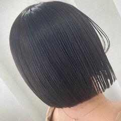 個性的 ショートヘア モード ボブ ヘアスタイルや髪型の写真・画像