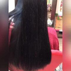 大人女子 ロング エクステ ナチュラル ヘアスタイルや髪型の写真・画像