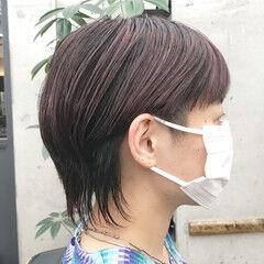 ツーブロック マッシュショート モード ショートヘア ヘアスタイルや髪型の写真・画像