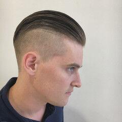 オールバック 外国人風 ストリート 坊主 ヘアスタイルや髪型の写真・画像