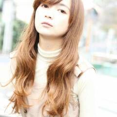 ロング フェミニン アンニュイ 大人かわいい ヘアスタイルや髪型の写真・画像