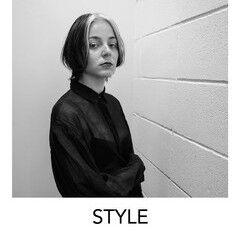 原宿 ストリート デザインカラー ホワイトブリーチ ヘアスタイルや髪型の写真・画像