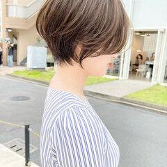 ショートヘア マッシュ ベリーショート ナチュラル ヘアスタイルや髪型の写真・画像