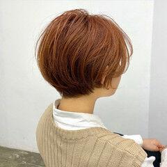 小顔ショート アンニュイ 大人ショート ショートボブ ヘアスタイルや髪型の写真・画像