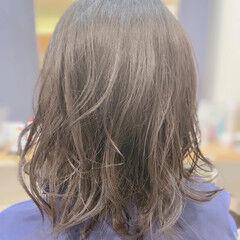 切りっぱなしボブ 女の子 外ハネボブ ナチュラル ヘアスタイルや髪型の写真・画像