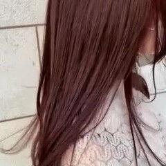 艶髪 ナチュラル ブリーチ無し 大人可愛い ヘアスタイルや髪型の写真・画像