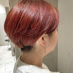似合わせカット ショート ショートヘア ナチュラル ヘアスタイルや髪型の写真・画像