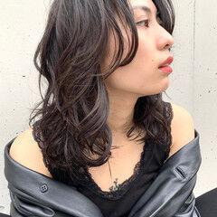 大人ヘアスタイル 大人ミディアム アンニュイ ミディアム ヘアスタイルや髪型の写真・画像