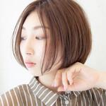 レイヤーカット 髪質改善 ヘアカラー ナチュラル