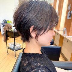 ショートヘア ショート 丸みショート 大人ショート ヘアスタイルや髪型の写真・画像