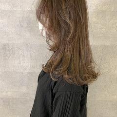 アンニュイほつれヘア ナチュラル ミディアム ウルフカット ヘアスタイルや髪型の写真・画像