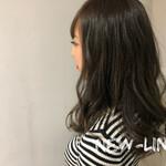 ナチュラル 3Dカラー アンニュイほつれヘア ハイライト