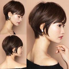 前髪 ナチュラル ショート 北川景子 ヘアスタイルや髪型の写真・画像