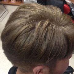モード ベリーショート シルバーグレージュ 外国人風カラー ヘアスタイルや髪型の写真・画像