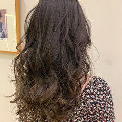 ビーチガール ロング 黒髪 ストリート ヘアスタイルや髪型の写真・画像