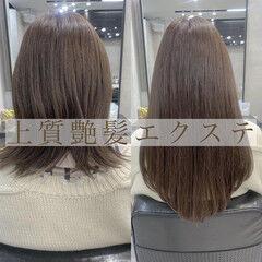韓国風ヘアー 私とマスクとヘアアレンジ エクステ ナチュラル ヘアスタイルや髪型の写真・画像
