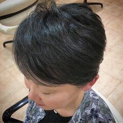 ベリーショート ショートヘア ナチュラル ショート ヘアスタイルや髪型の写真・画像