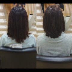 ナチュラル 社会人の味方 髪質改善 髪質改善トリートメント ヘアスタイルや髪型の写真・画像