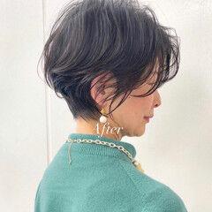 ショート ミニボブ ショートカット ショートボブ ヘアスタイルや髪型の写真・画像