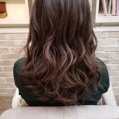 エフォートレス カール 女子力 ゆるふわ ヘアスタイルや髪型の写真・画像