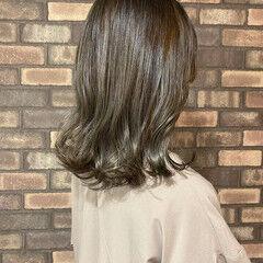 大人ヘアスタイル スロウ 透明感 イルミナカラー ヘアスタイルや髪型の写真・画像
