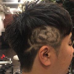 花 メンズ ストリート 坊主 ヘアスタイルや髪型の写真・画像