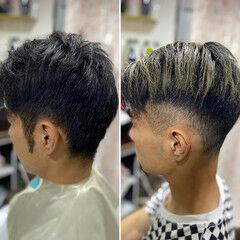 ショート ベリーショート ストリート メンズカット ヘアスタイルや髪型の写真・画像