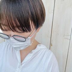 ショート 丸みショート マッシュショート ショートカット ヘアスタイルや髪型の写真・画像