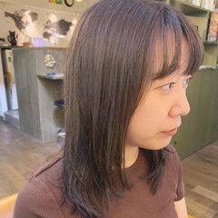 透明感 ナチュラル ハイライト 外国人風カラー ヘアスタイルや髪型の写真・画像