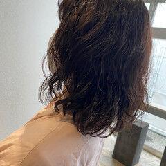 無造作パーマ  パーマ パーマ ヘアスタイルや髪型の写真・画像