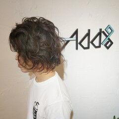 メンズマッシュ ガーリー ショート ツイスト ヘアスタイルや髪型の写真・画像
