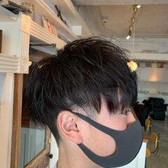 メンズヘア ショート メンズカラー メンズマッシュ ヘアスタイルや髪型の写真・画像