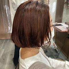 切りっぱなしボブ タンバルモリ ボブ 韓国ヘア ヘアスタイルや髪型の写真・画像