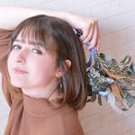 ショートヘア ナチュラル 髪質改善カラー ミニボブ