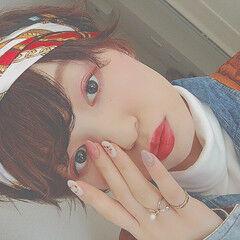 春 ヘアアレンジ デート ハイライト ヘアスタイルや髪型の写真・画像