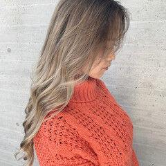 ロング ストリート 西海岸風 ブロンド ヘアスタイルや髪型の写真・画像