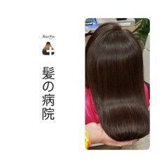 髪の病院 ナチュラル 名古屋市守山区 ロング ヘアスタイルや髪型の写真・画像