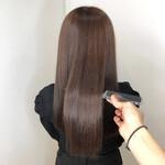 髪質改善 ヘアアレンジ 髪質改善トリートメント ロング