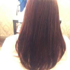 パステルカラー セミロング アッシュ ベージュ ヘアスタイルや髪型の写真・画像
