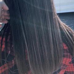 成人式 ストリート バレイヤージュ 外国人風 ヘアスタイルや髪型の写真・画像
