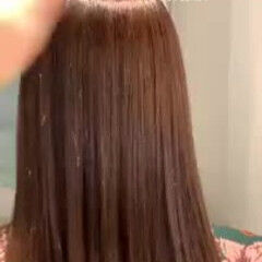 春 縮毛矯正 ゆるふわ モテ髪 ヘアスタイルや髪型の写真・画像